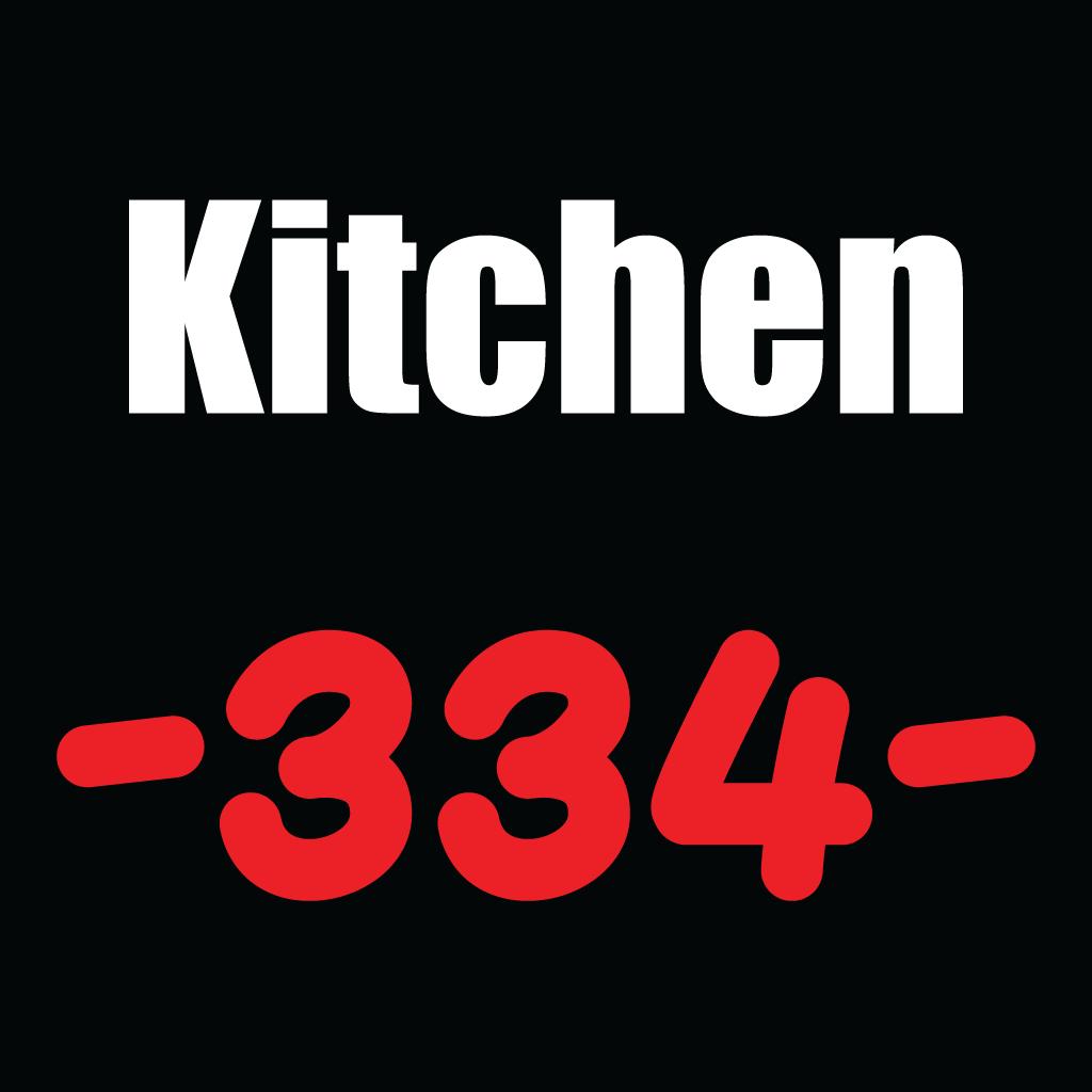 Kitchen 334 Online Takeaway Menu Logo