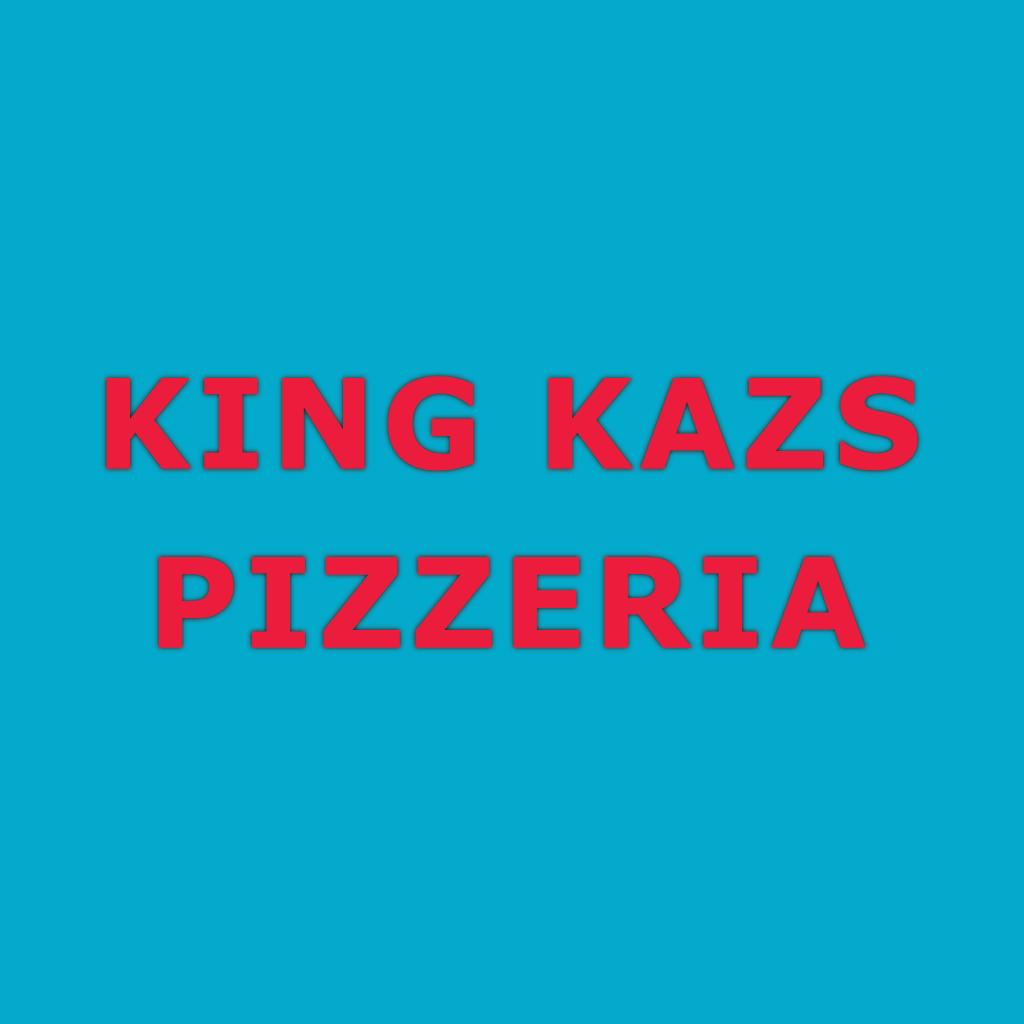 King Kaz's Pizzeria Online Takeaway Menu Logo