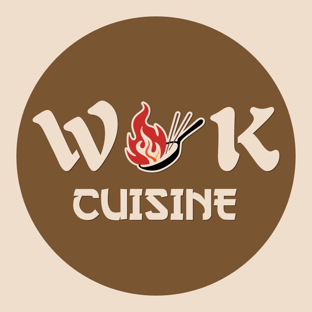 Wok Cuisine Online Takeaway Menu Logo