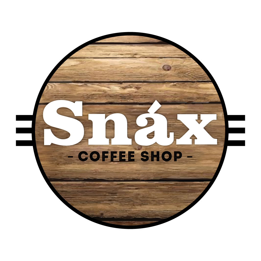 Snax Coffee Shop Online Takeaway Menu Logo