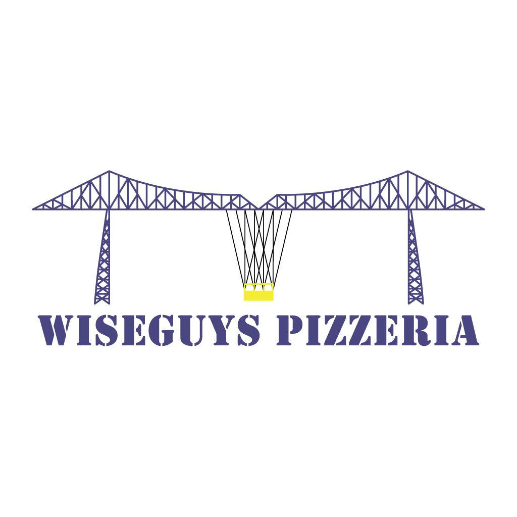 Wise Guys Pizzeria Online Takeaway Menu Logo