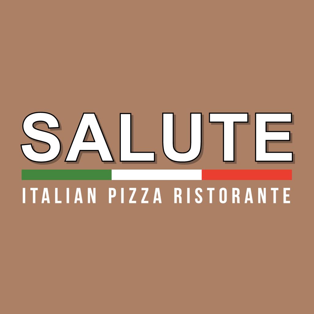 Salute Italian Pizza Ristorante Online Takeaway Menu Logo