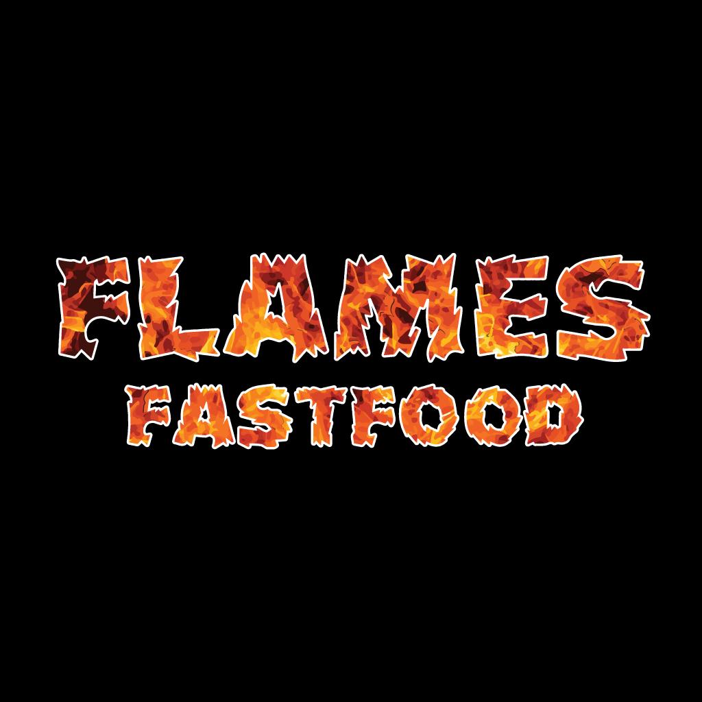 Flames Fast Food  Online Takeaway Menu Logo