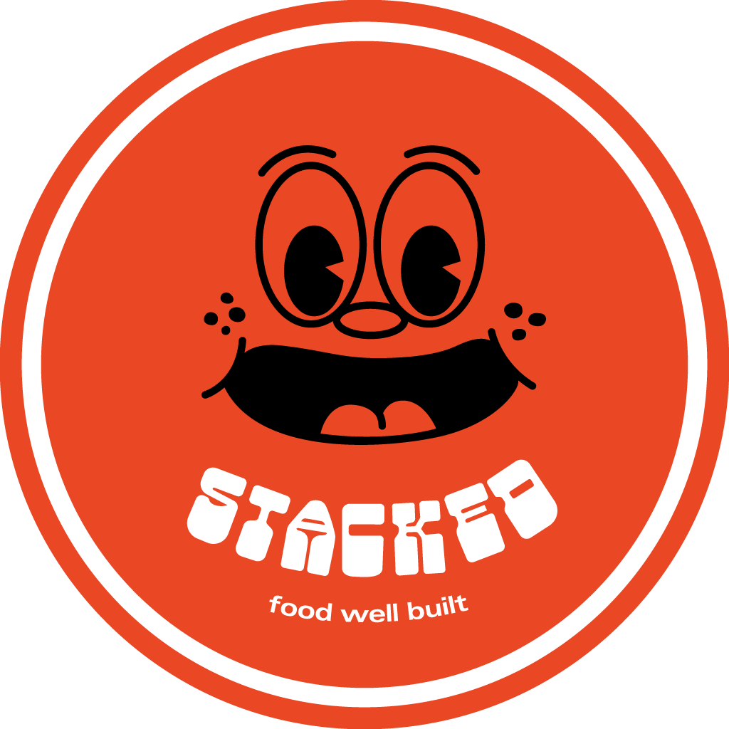 Stacked Online Takeaway Menu Logo