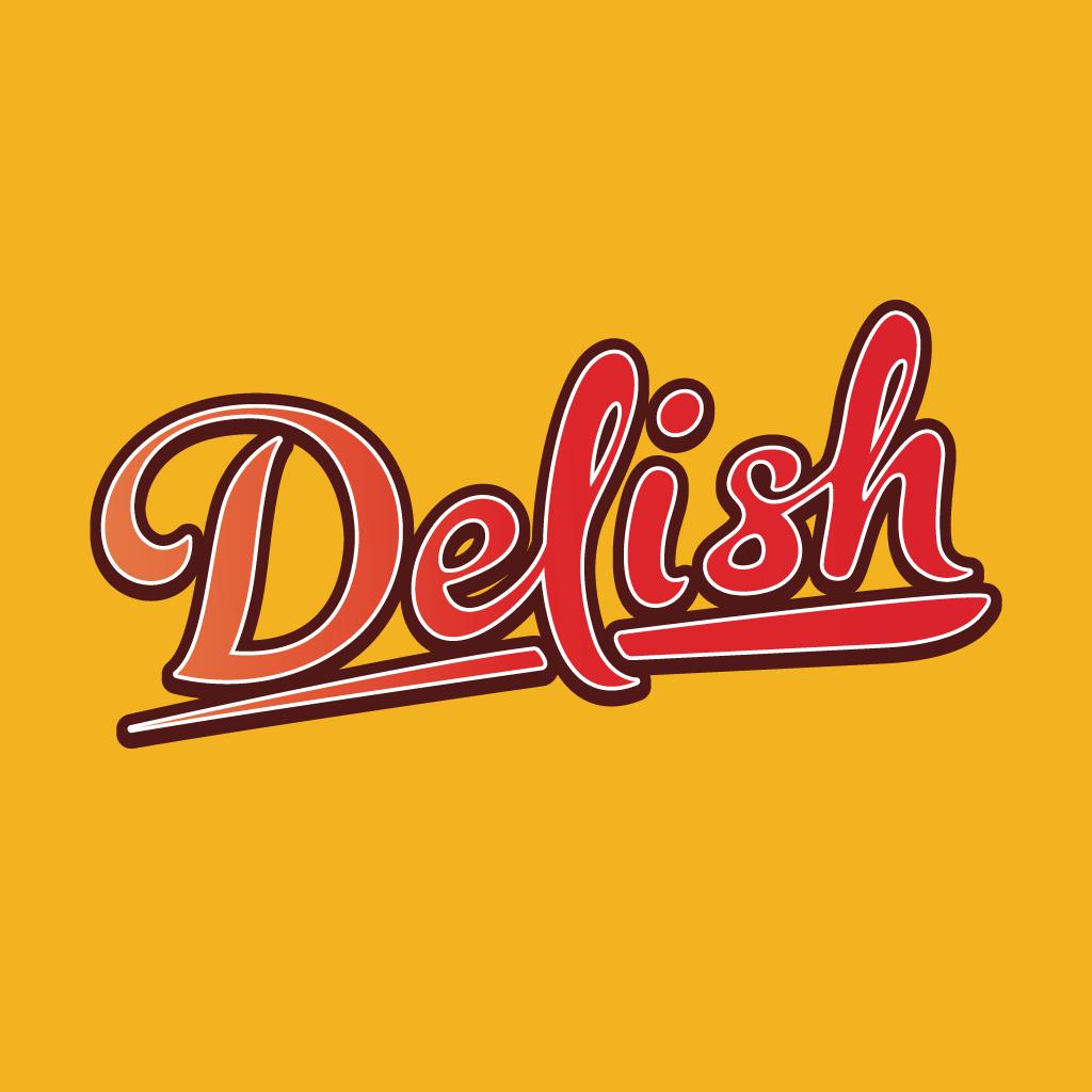 Delish  Online Takeaway Menu Logo