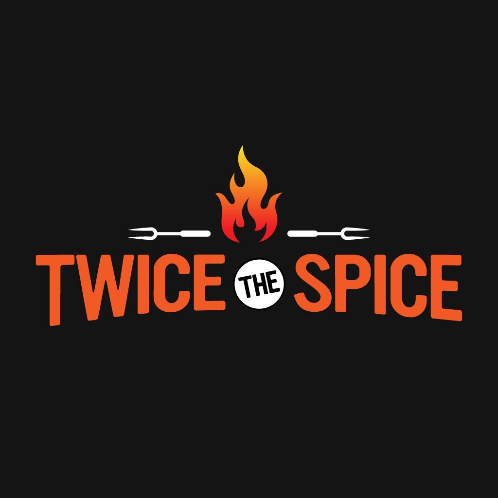 Twice The Spice  Online Takeaway Menu Logo