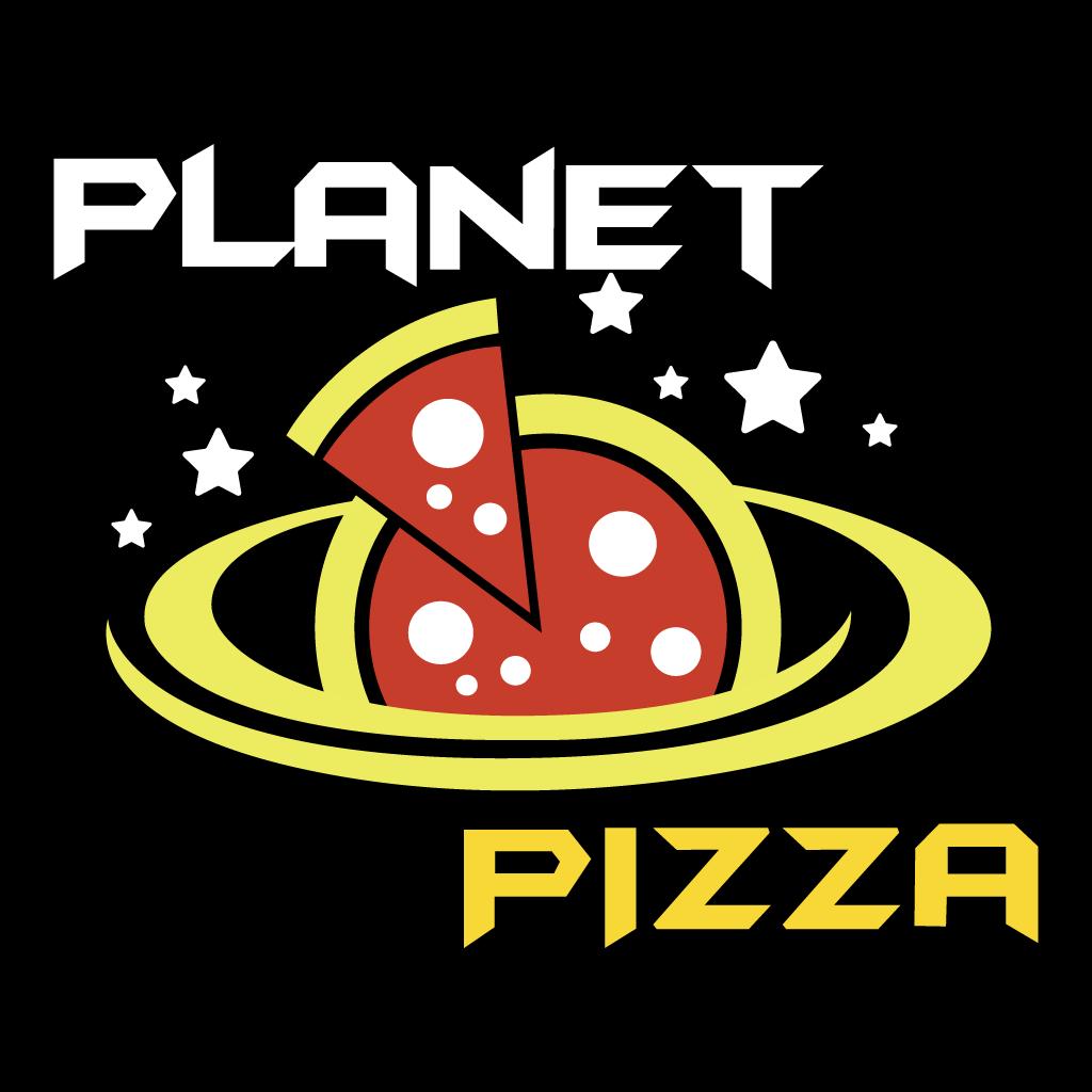 Planet Pizza Online Takeaway Menu Logo