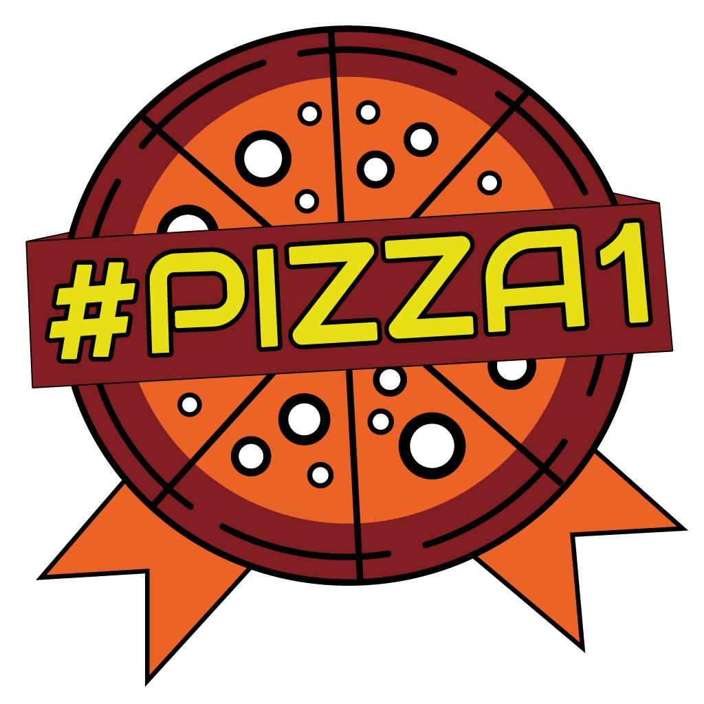 #Pizza1 Online Takeaway Menu Logo