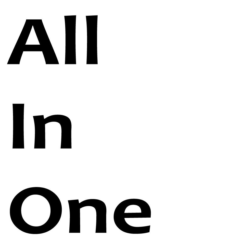 All In One Online Takeaway Menu Logo