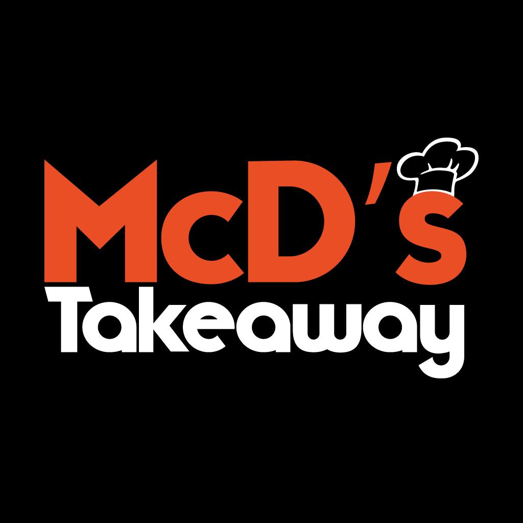 McD's Takeaway  Online Takeaway Menu Logo