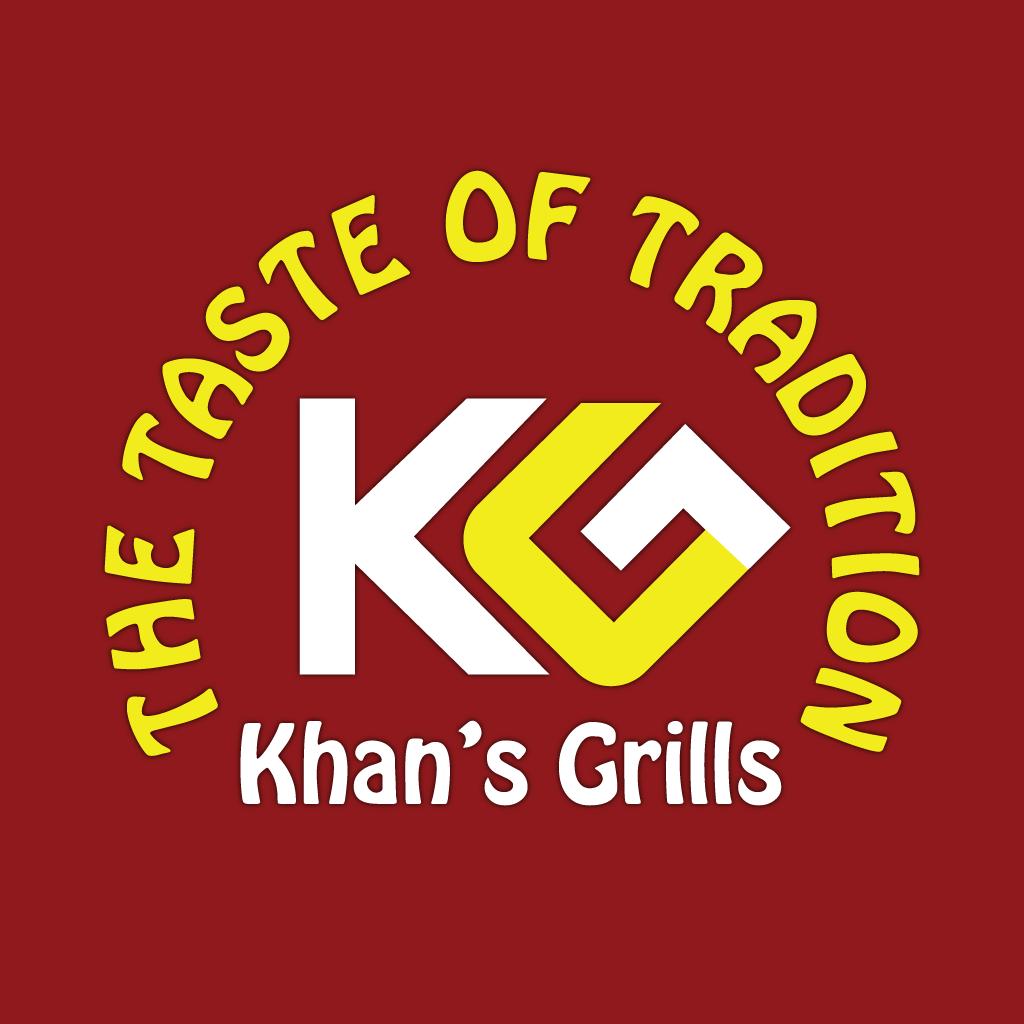 Khan's Grill  Online Takeaway Menu Logo