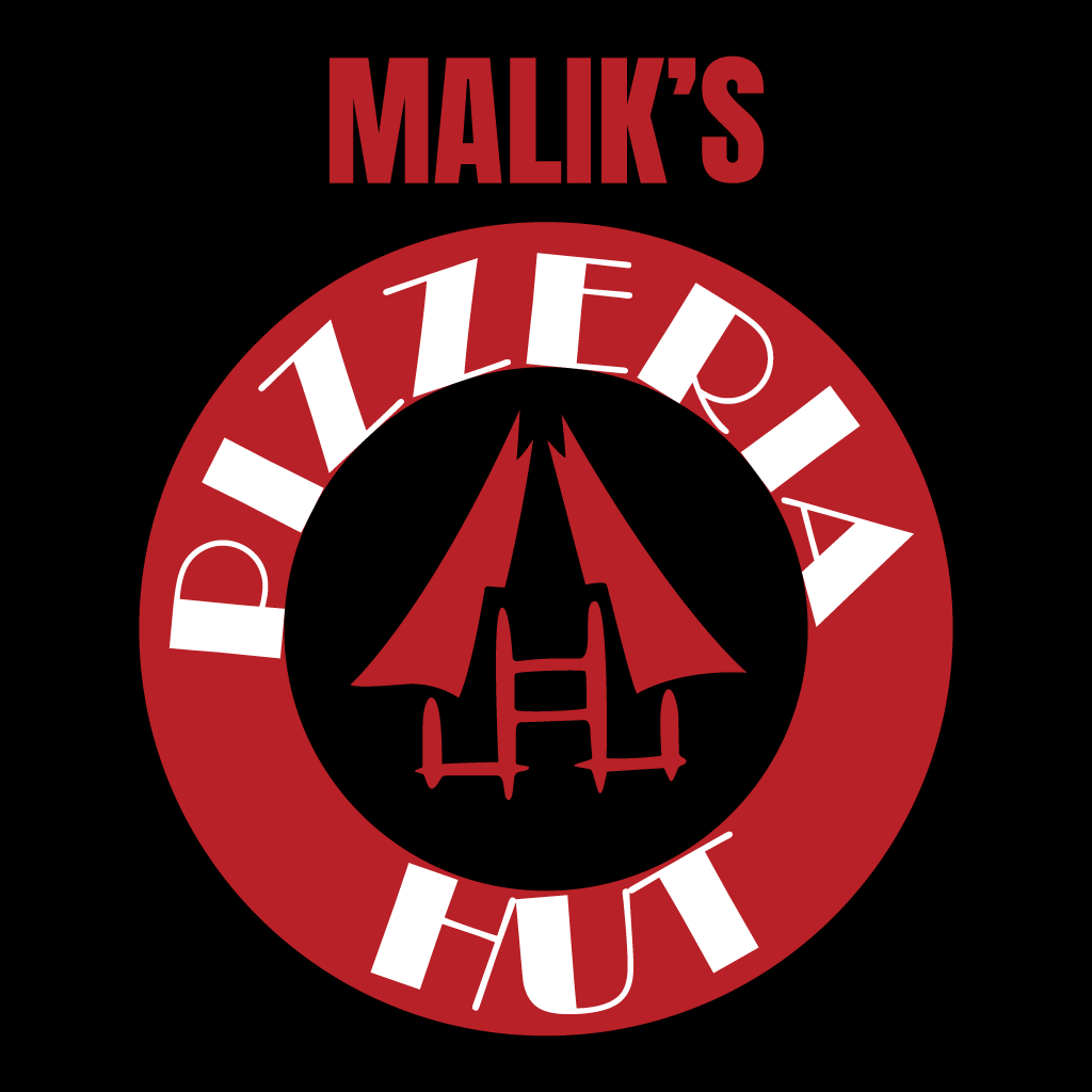 Maliks Pizzeria Hut Online Takeaway Menu Logo