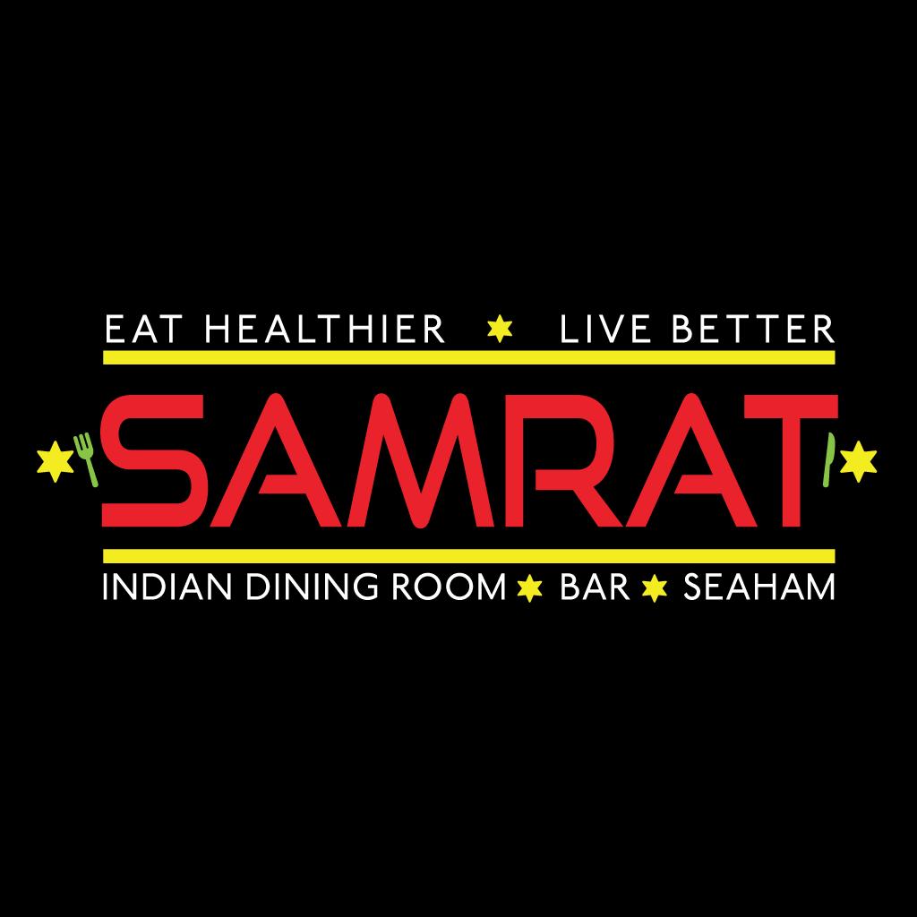 Samrat Indian Dining Room & Takeaway Online Takeaway Menu Logo