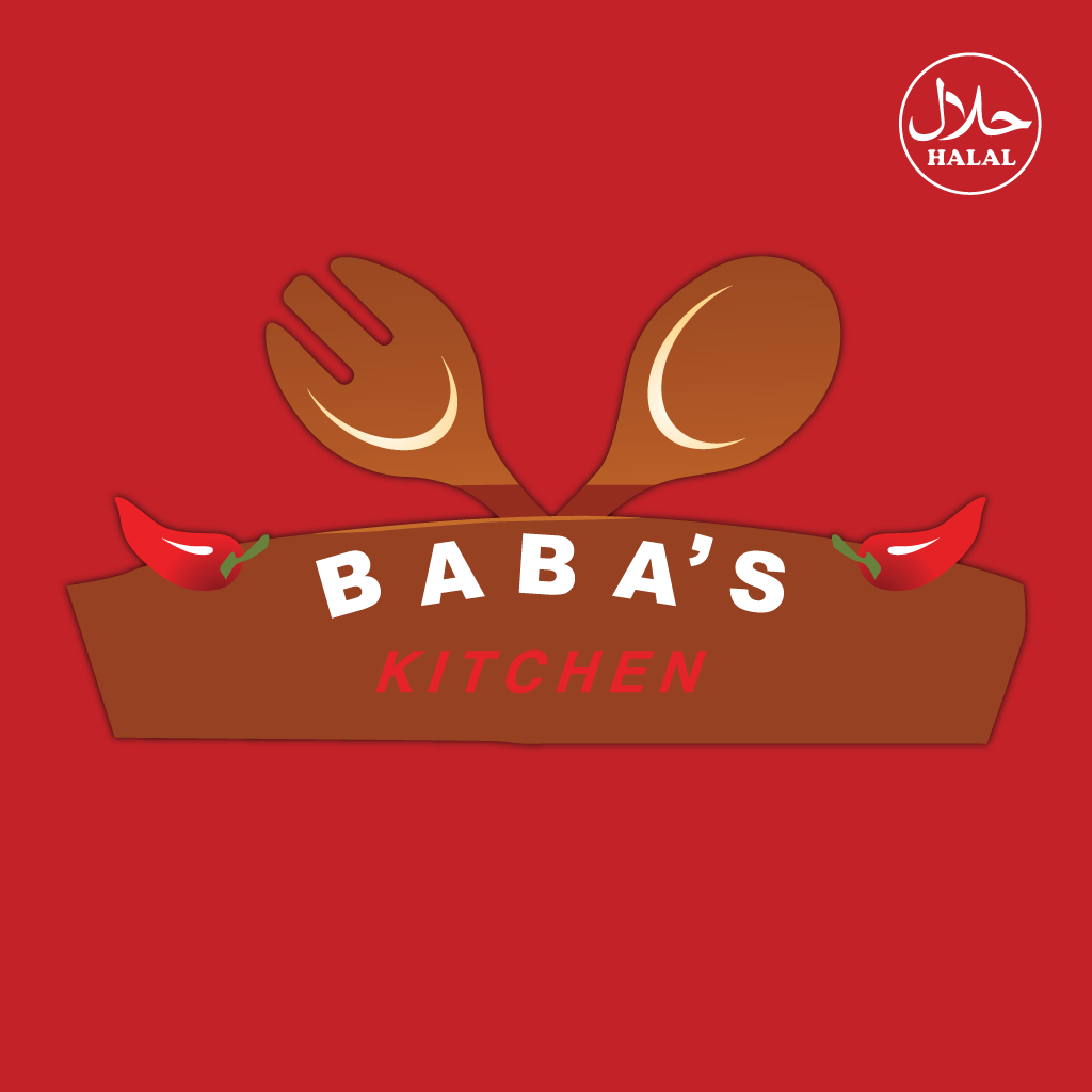 Babas Kitchen Online Takeaway Menu Logo