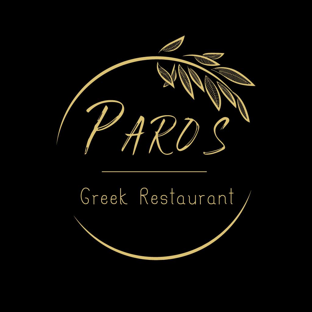 Paros Greek Restaurant  Online Takeaway Menu Logo