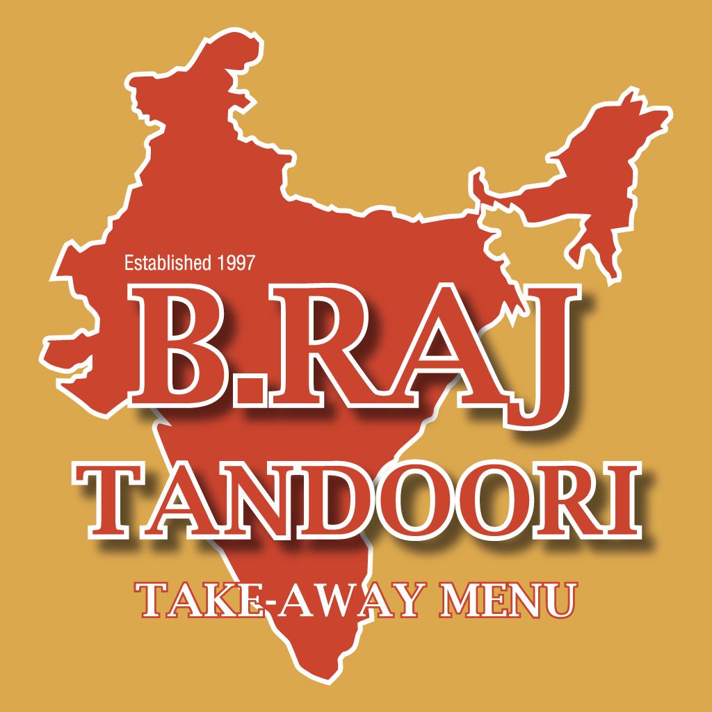 B-Raj Tandoori Online Takeaway Menu Logo
