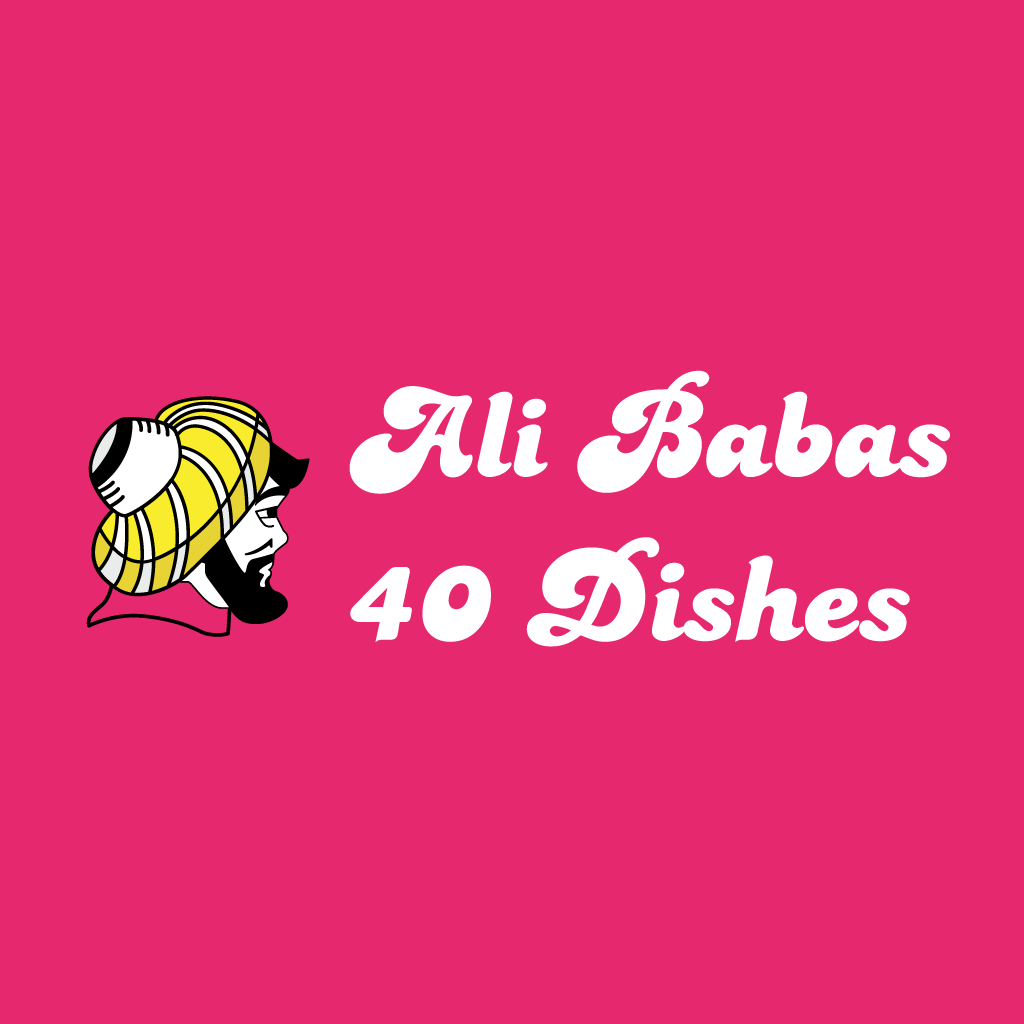 Ali Babas 40 Dishes  Online Takeaway Menu Logo