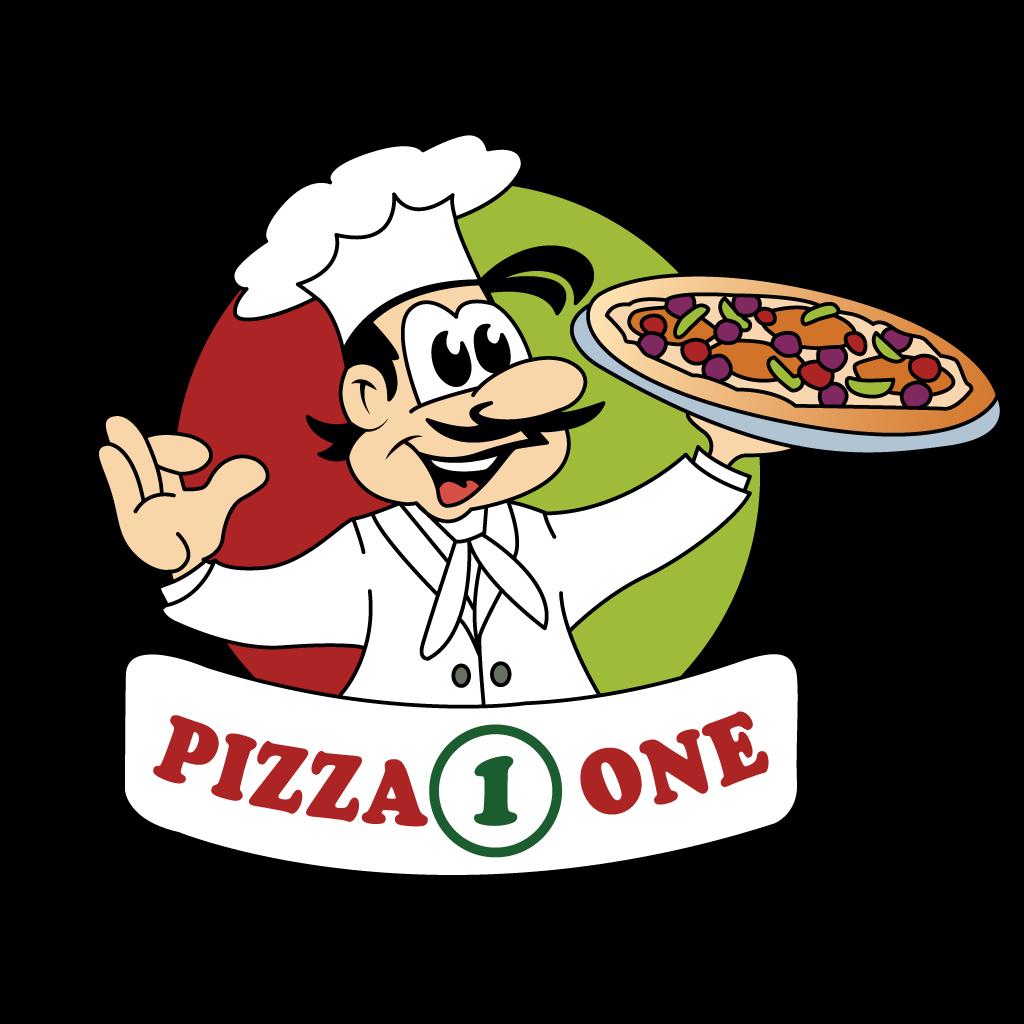 Pizza One  Online Takeaway Menu Logo
