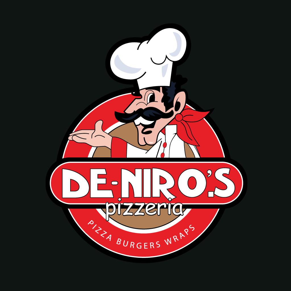 De-Niro's Pizzeria  Online Takeaway Menu Logo