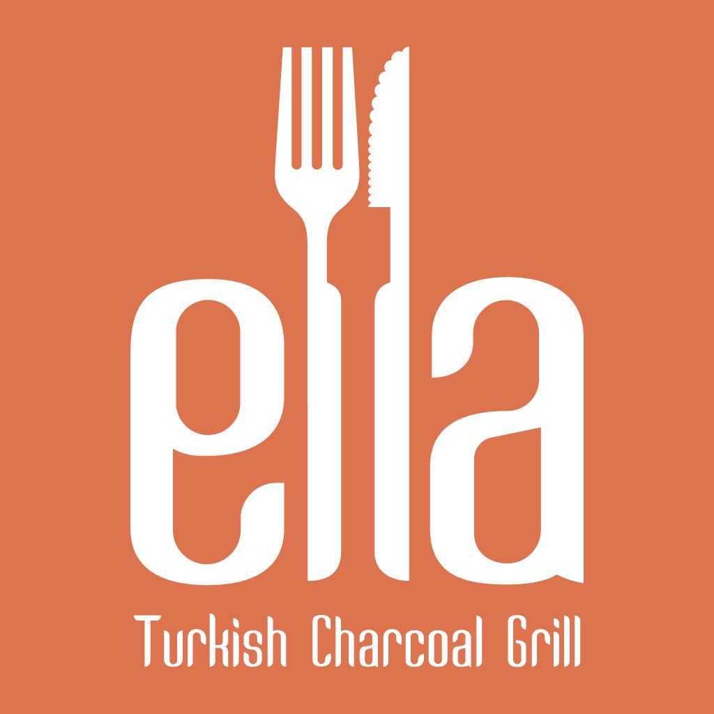 Ella Turkish Charcoal Grill Online Takeaway Menu Logo