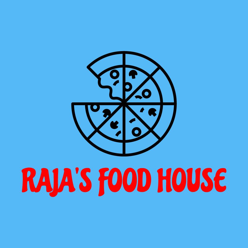 Rajas Food House Online Takeaway Menu Logo