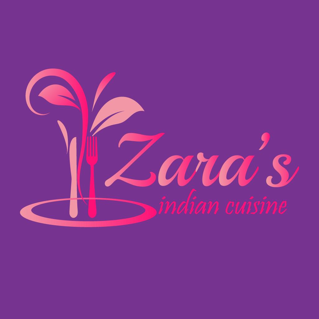 Zara Indian Cuisine Online Takeaway Menu Logo