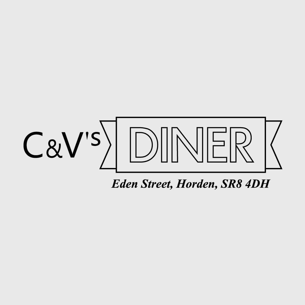 C&V's Diner Online Takeaway Menu Logo