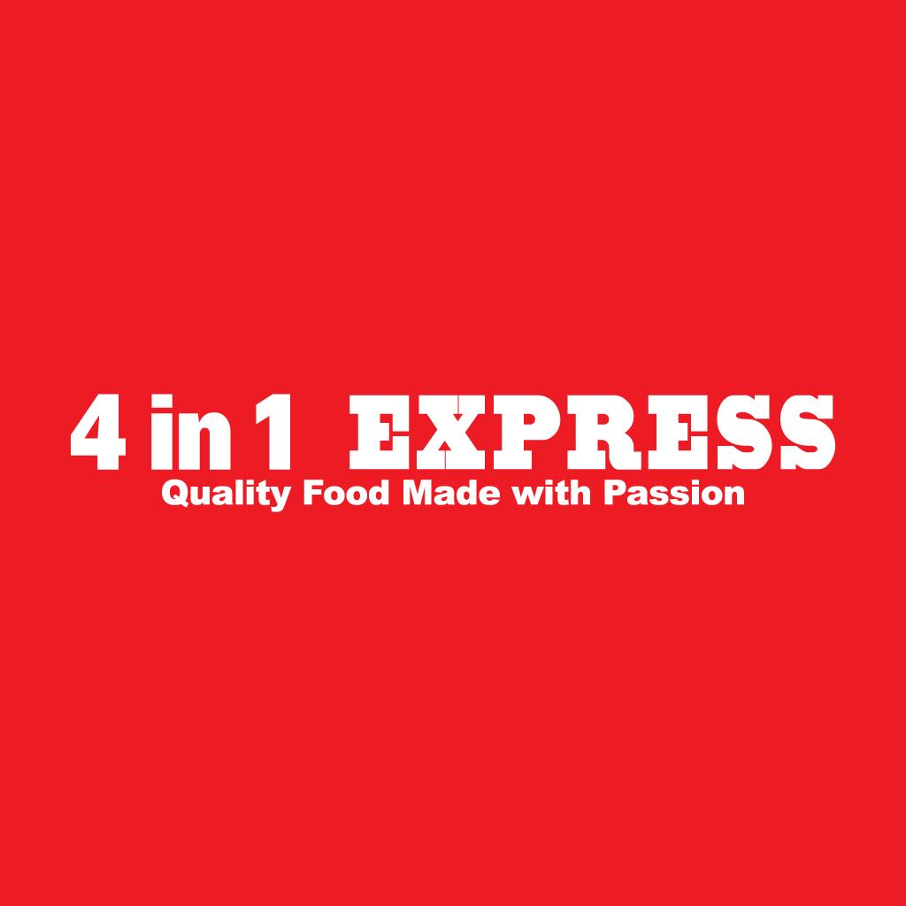 4in1 Express Online Takeaway Menu Logo