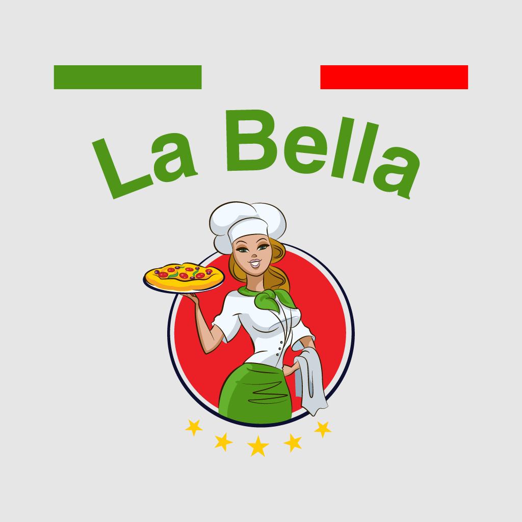 La Bella Online Takeaway Menu Logo