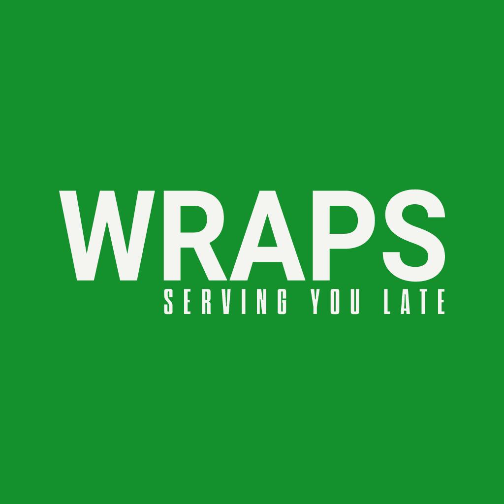 Wraps Online Takeaway Menu Logo