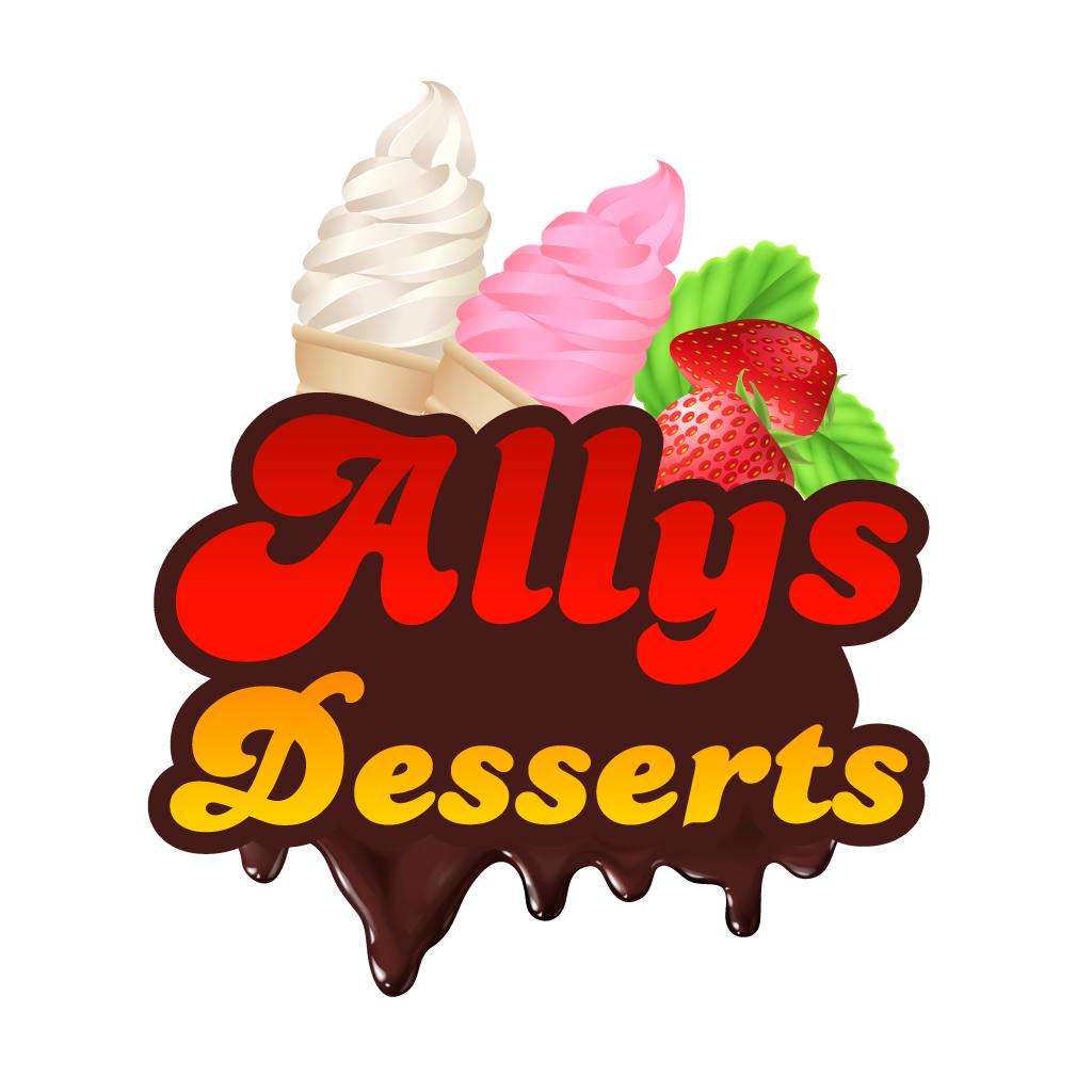Ally's Desserts  Online Takeaway Menu Logo