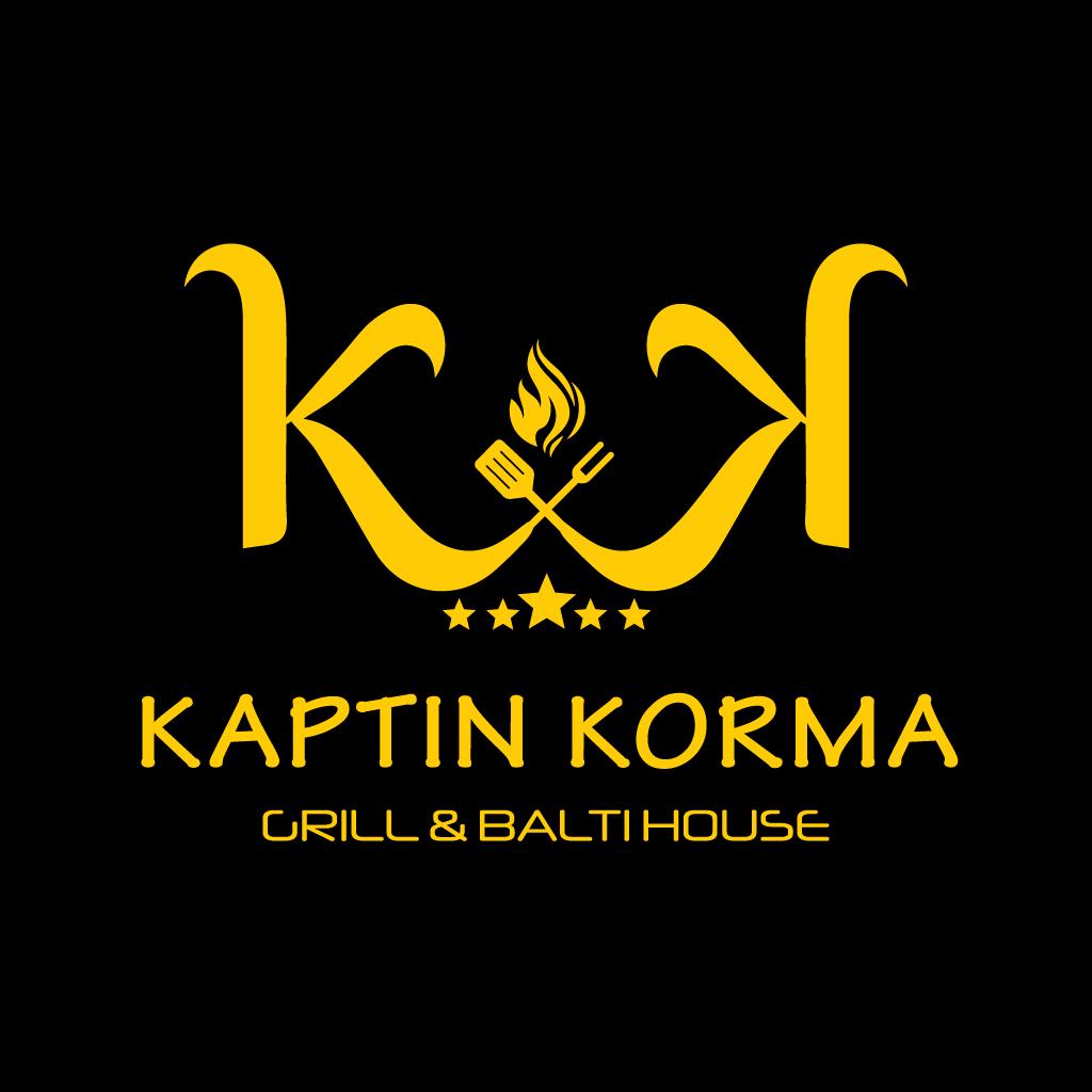 Kaptin Korma Online Takeaway Menu Logo