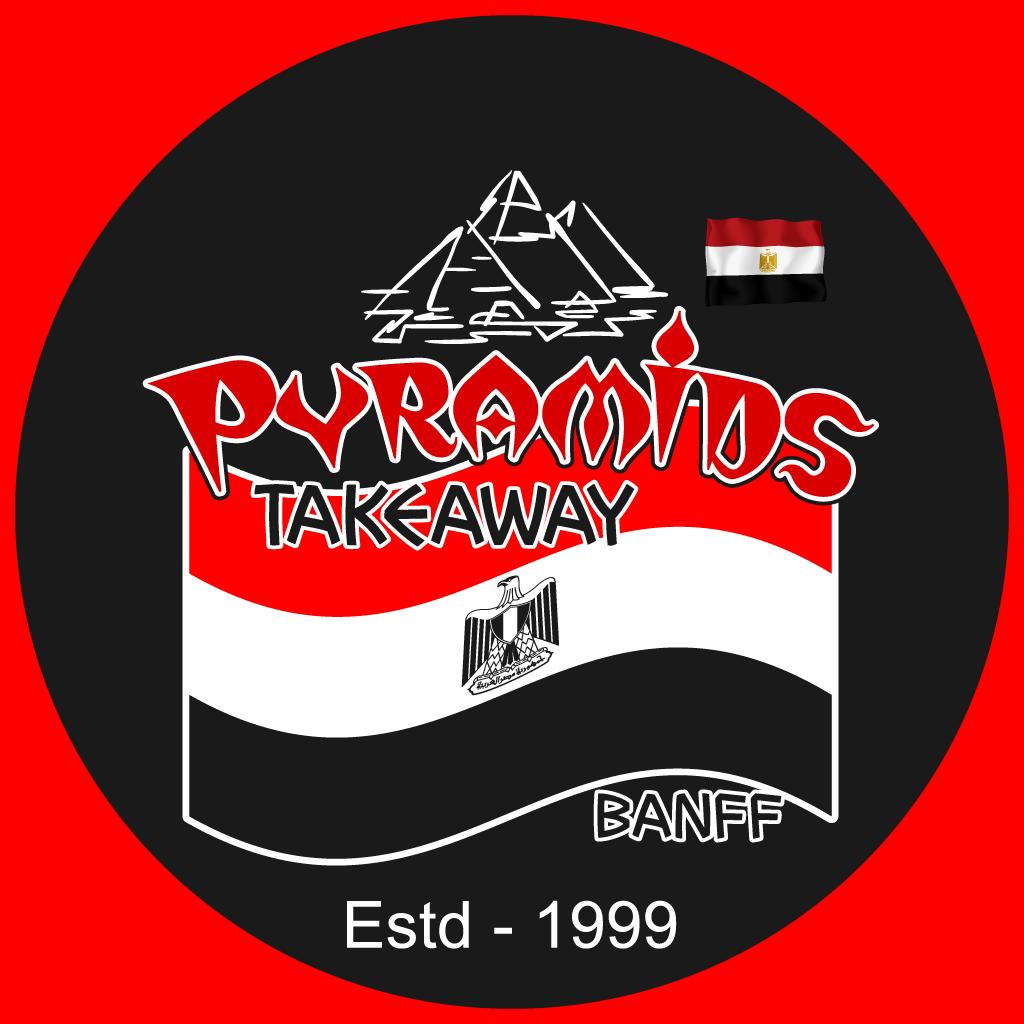 Pyramids Takeaway Online Takeaway Menu Logo