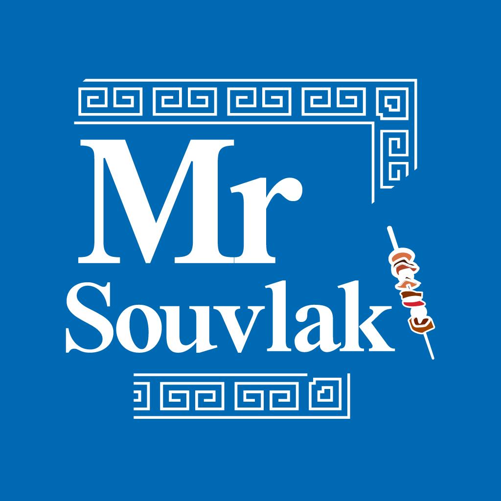 Mr Souvlaki Online Takeaway Menu Logo