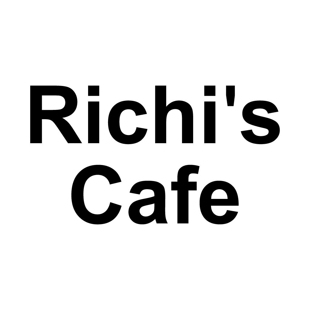 Richi's Cafe Online Takeaway Menu Logo