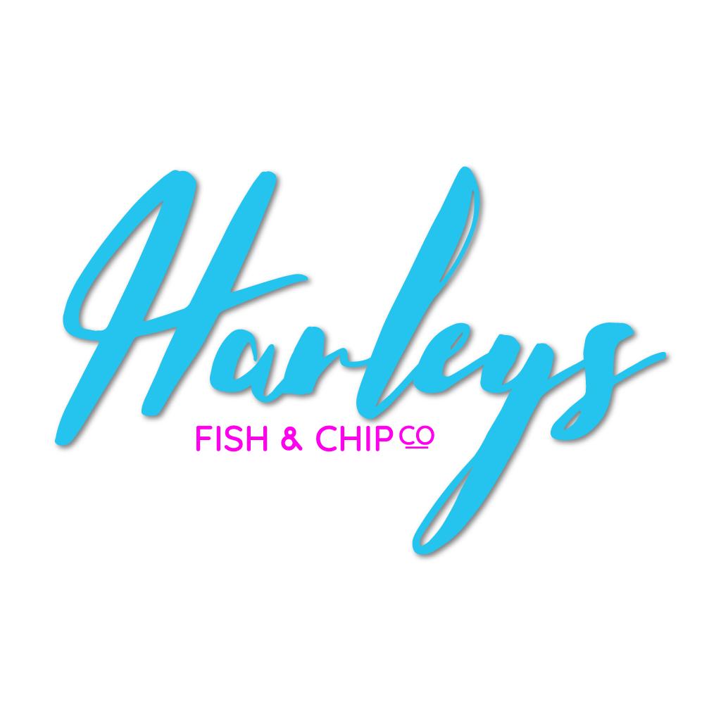 Harleys Fish & Chip Co Online Takeaway Menu Logo