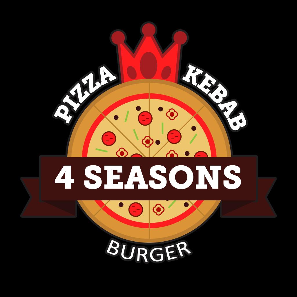 4 Seasons Pizza and Grill Online Takeaway Menu Logo
