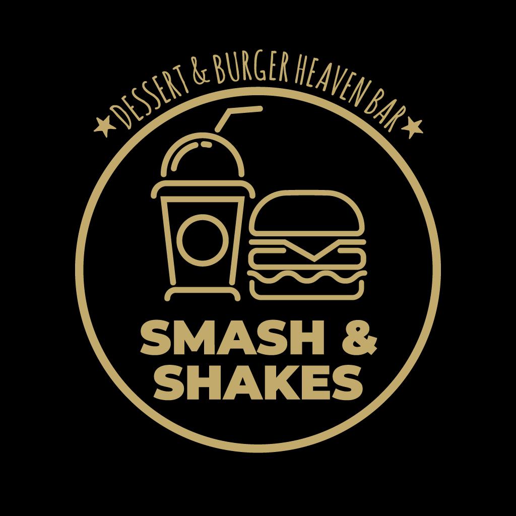 Smash & Shakes Online Takeaway Menu Logo