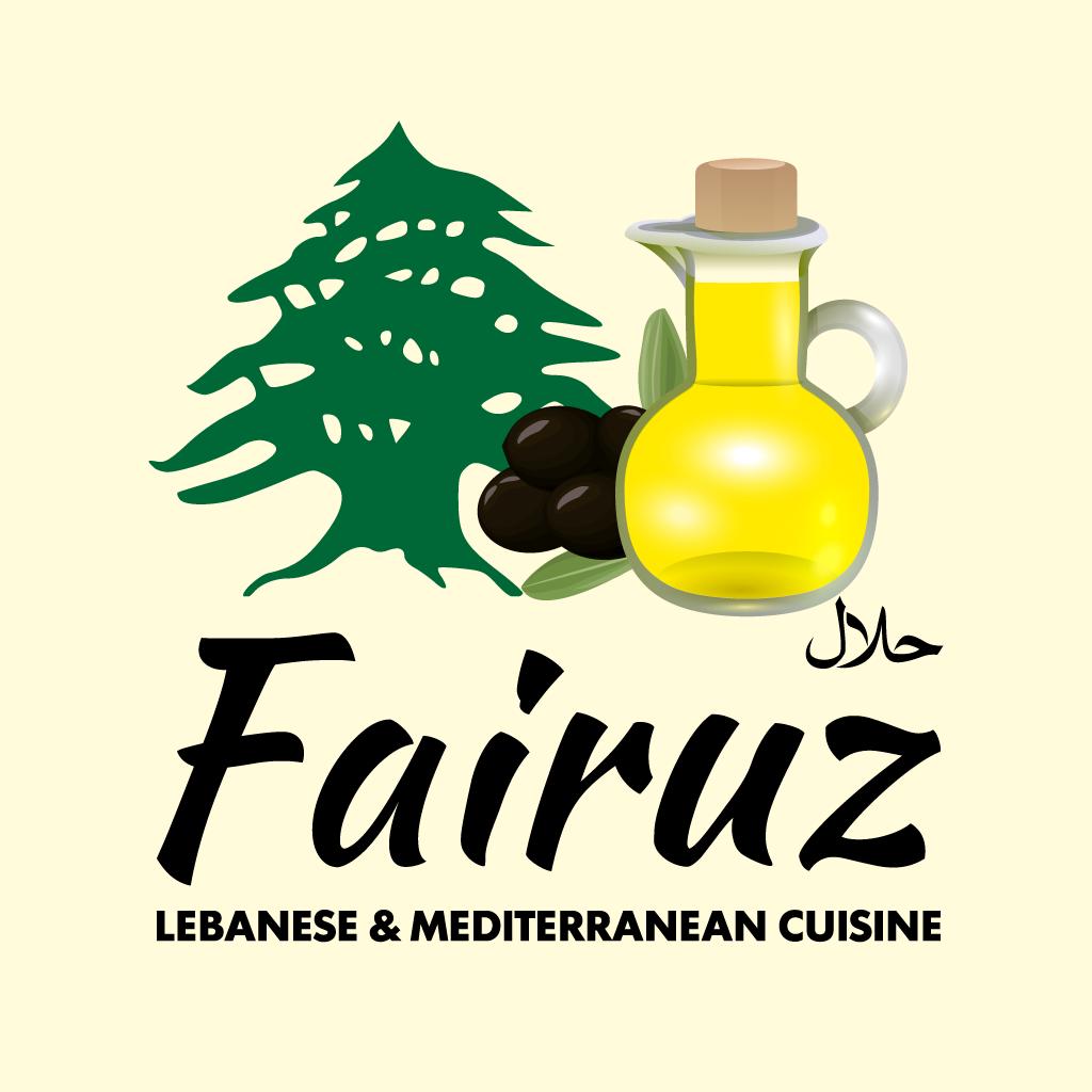 Fairuz Lebanese & Mediterranean Cuisine... Online Takeaway Menu Logo