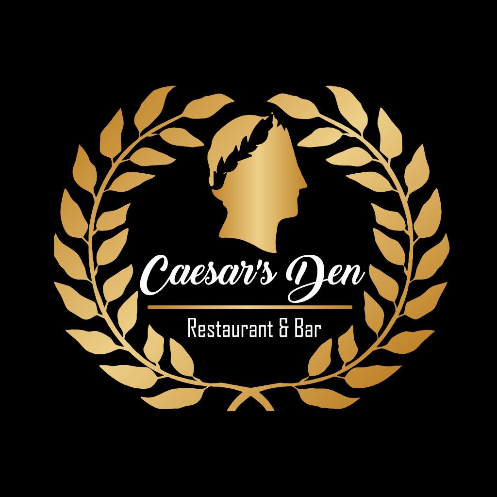 Caesars Den Restaurant and Bar Online Takeaway Menu Logo
