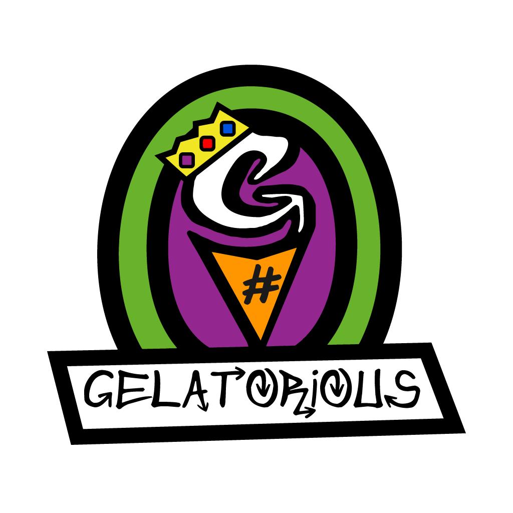 Gelatorious Desserts  Online Takeaway Menu Logo