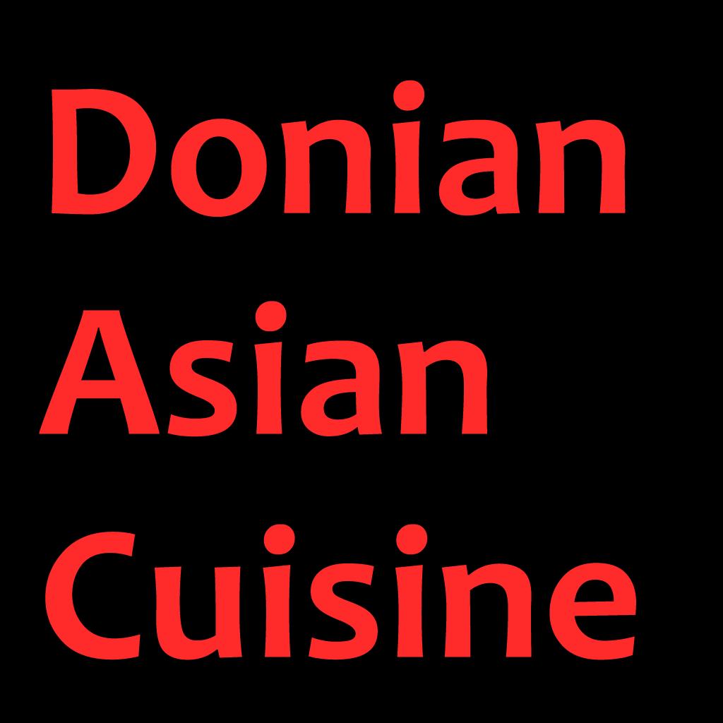Donian Asian Cuisine  Online Takeaway Menu Logo