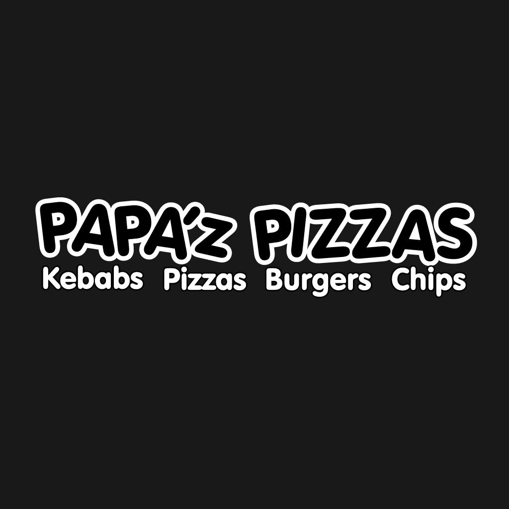 Papaz Pizzas Online Takeaway Menu Logo