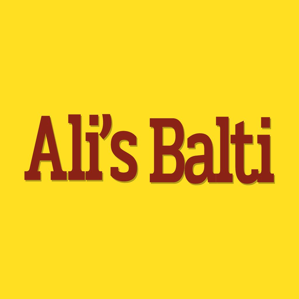 Ali's Balti Online Takeaway Menu Logo