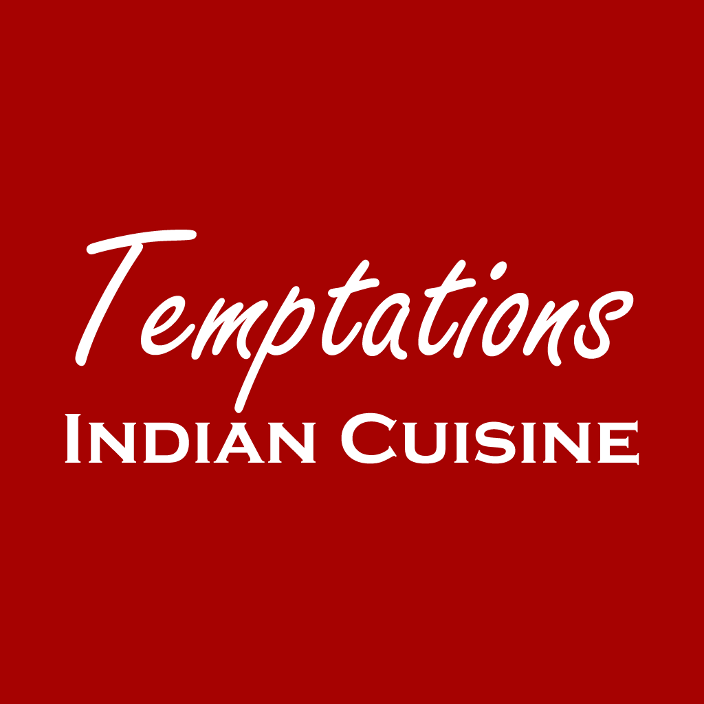 Temptations Indian Cuisine Online Takeaway Menu Logo