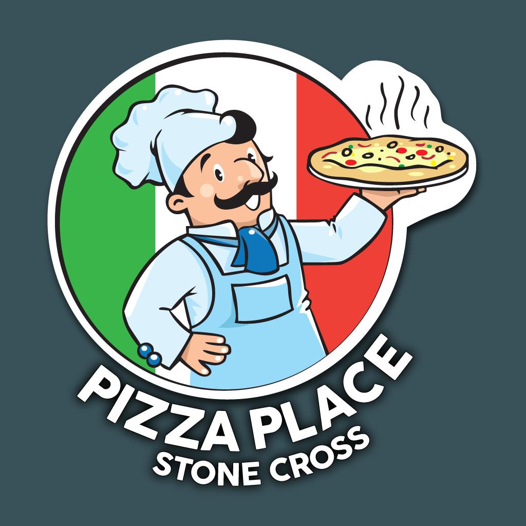 Pizza Place Stone Cross Online Takeaway Menu Logo