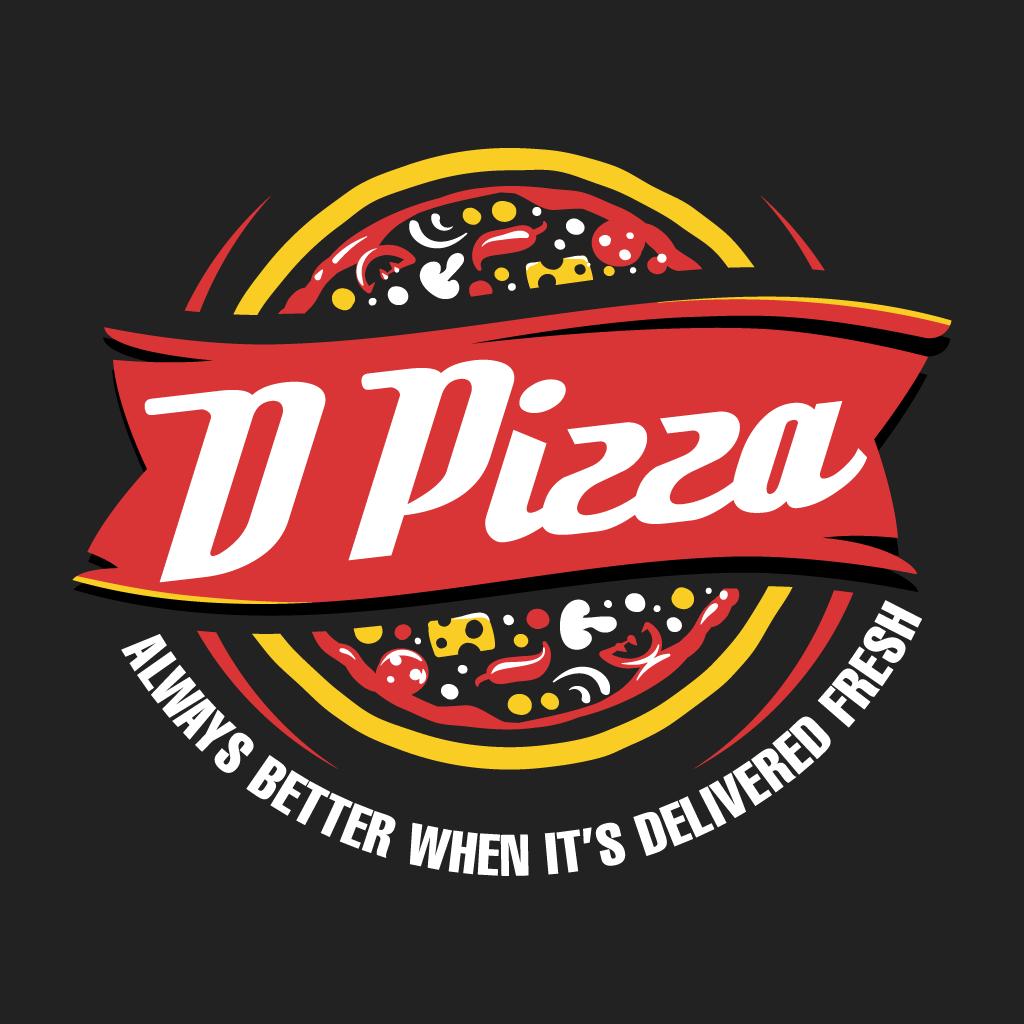 D Pizza  Online Takeaway Menu Logo
