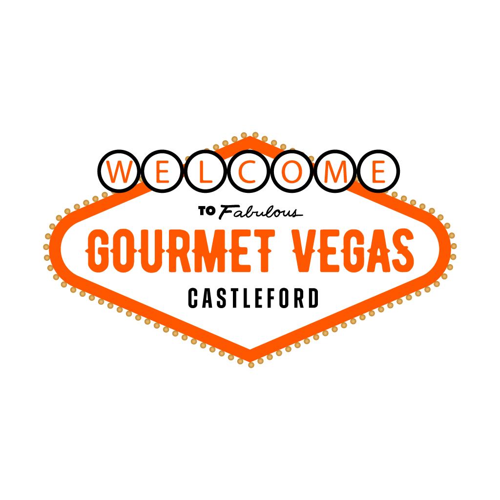 Gourmet Vegas Online Takeaway Menu Logo