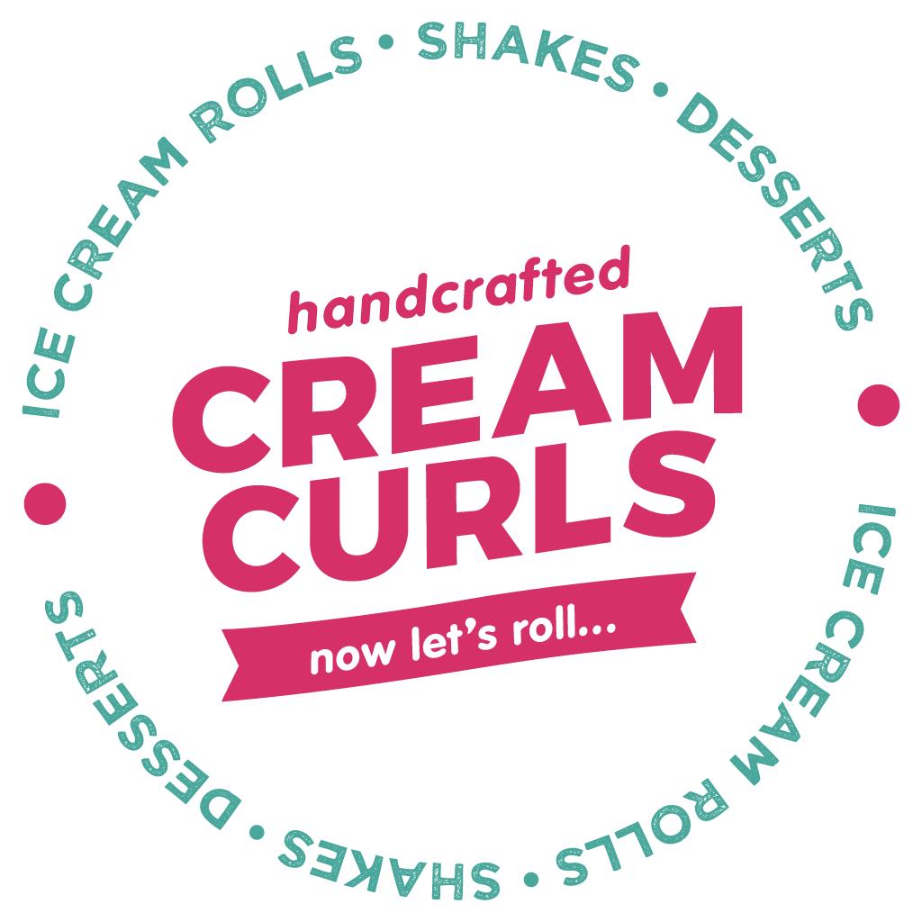 Cream Curls Washington  Online Takeaway Menu Logo