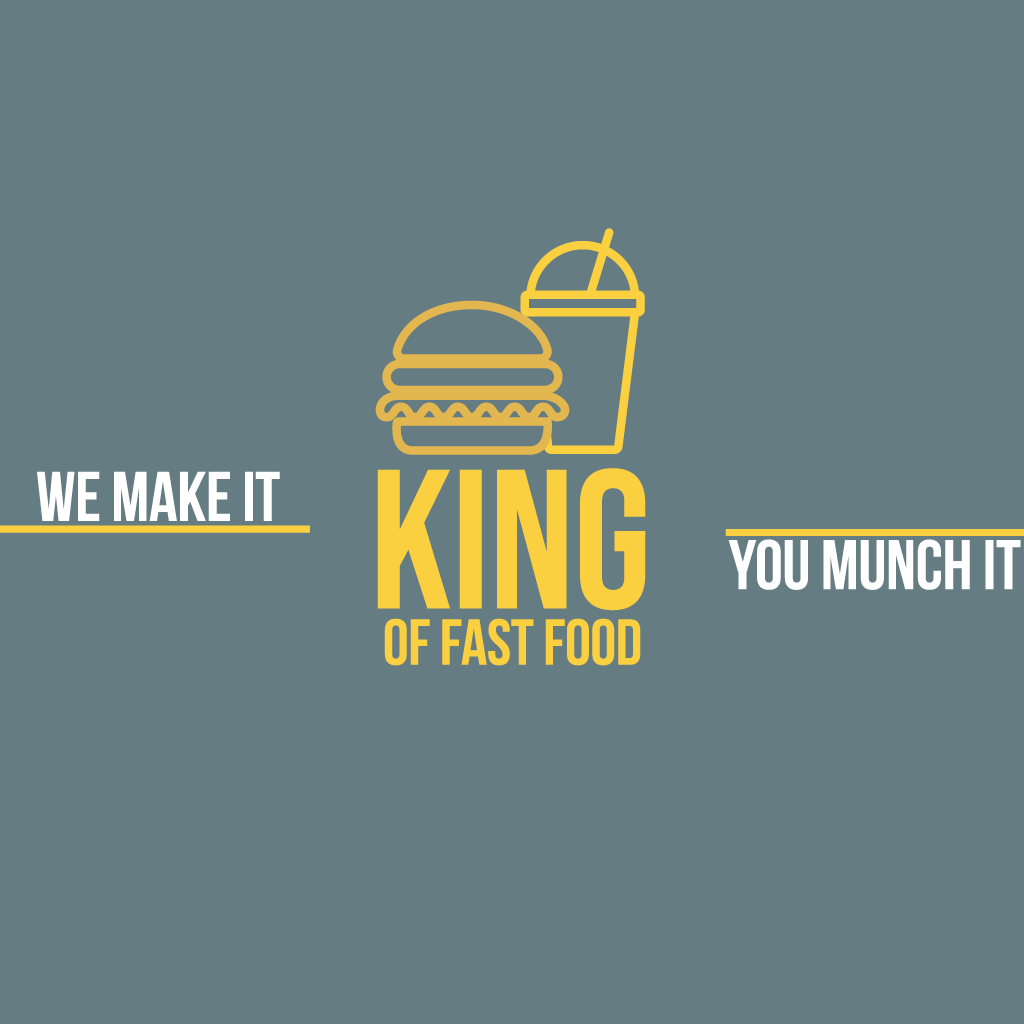 King of Fast Food Houghton-le-Spring  Online Takeaway Menu Logo